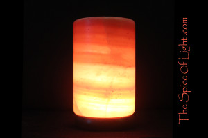 Column or Pillar Himalayan salt lamp