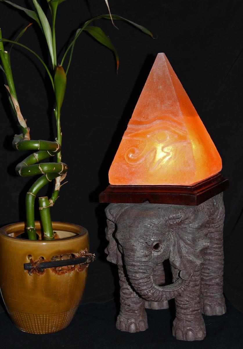 Eye Of Horus Pyramid Himalayan Salt Lamp The Spice Of