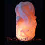 Koi salt lamp Koifish salt sculpture koi fish
