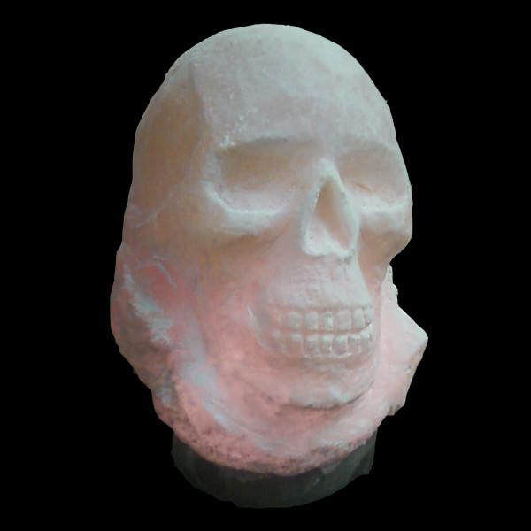 1. Skull, Large Himalayan salt lamp The Spice of Light