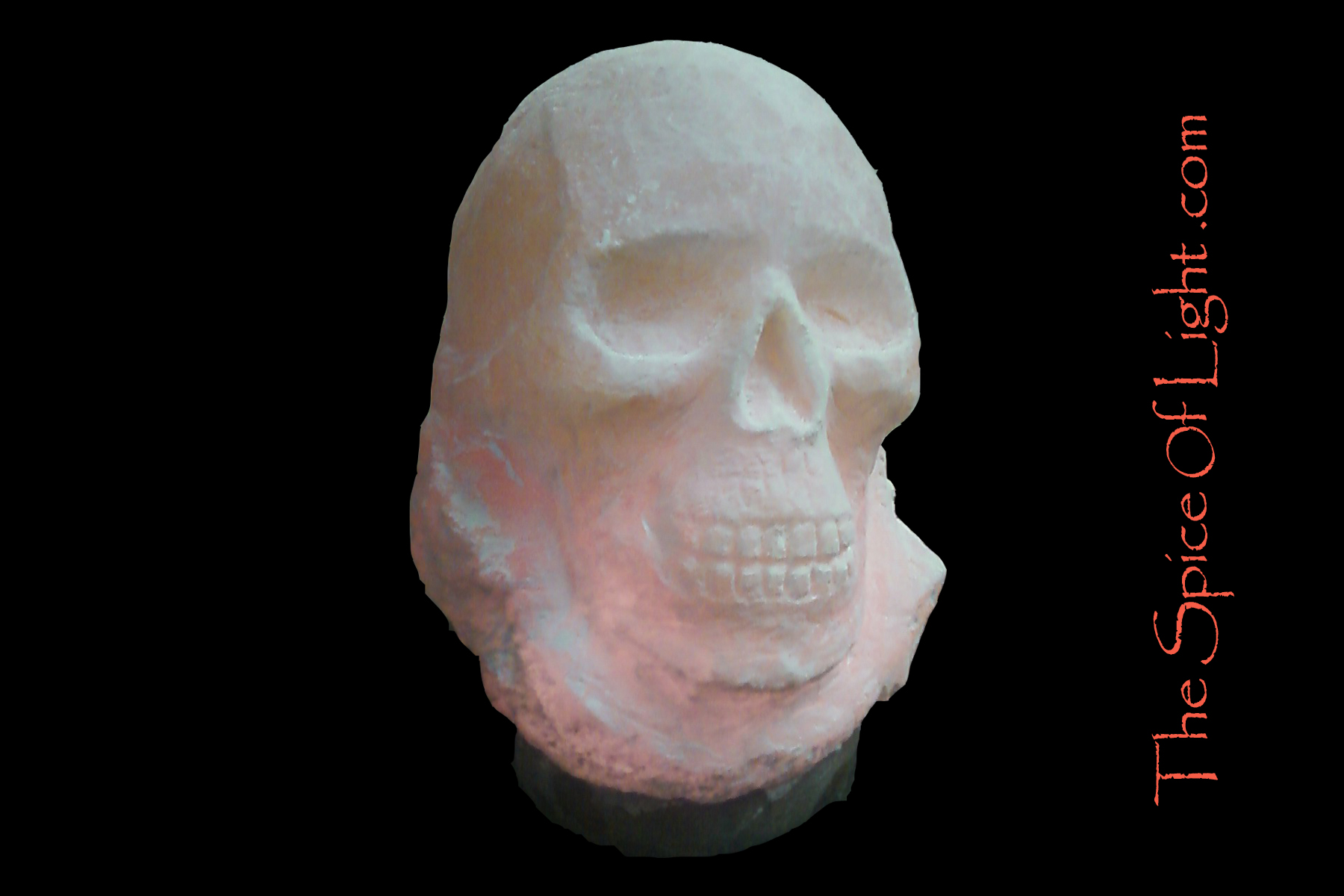 Salt Lamps Are Bad : 1. Skull, Large Himalayan salt lamp The Spice of Light