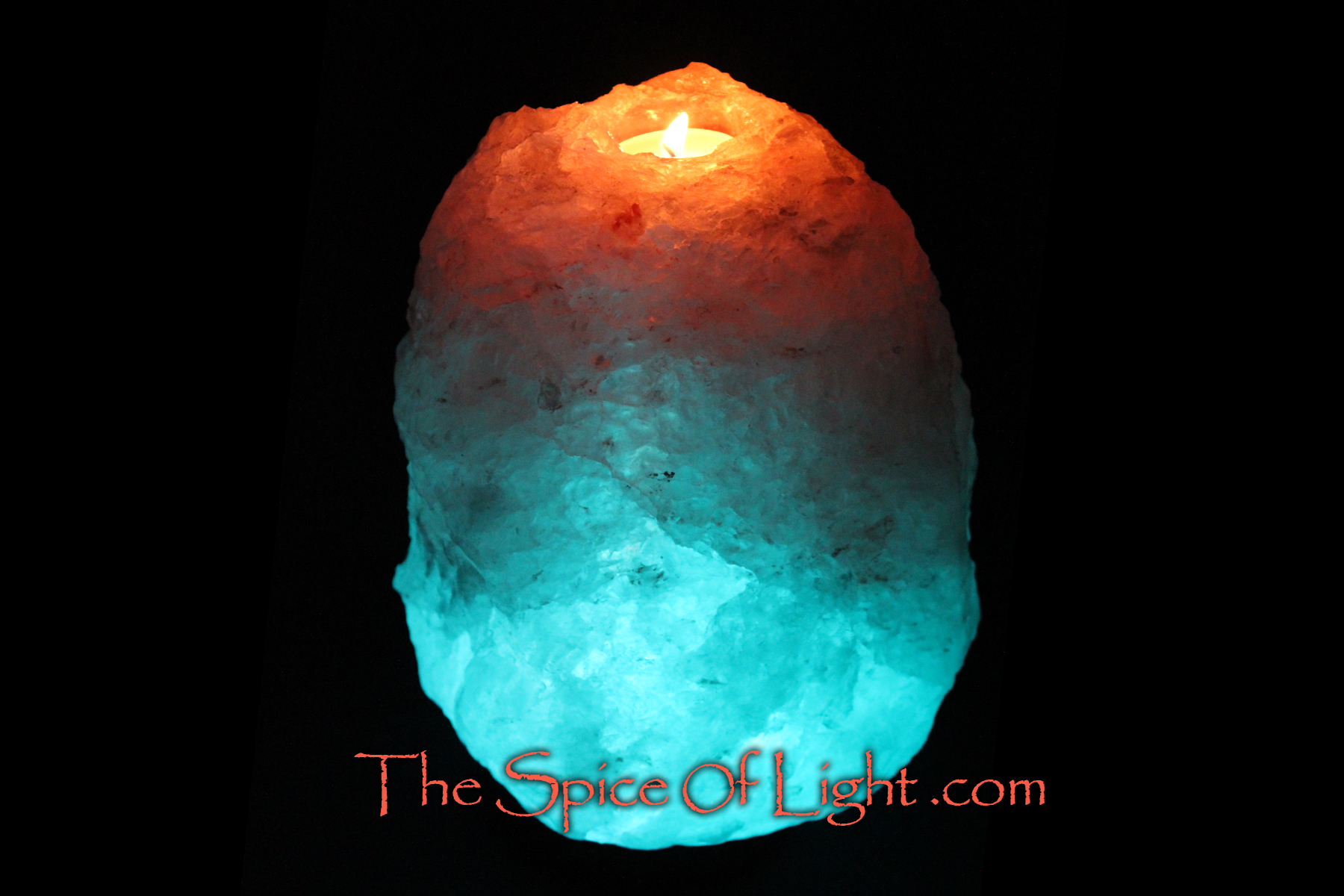 Salt Lamps Blue : A Volcano Glacier Crystal , blue Himalayan salt lamp The Spice of Light